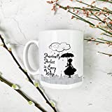 The Supreme Gift Company KH-CM-0070 -Practically Perfect In Every Way-Ceramic Mug-White-11oz-Gift