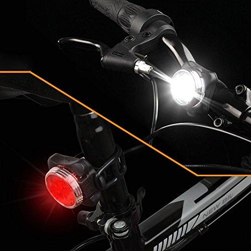 led fahrradlicht set wiederaufladbares usb fahrrad licht vorne fahrrad r cklicht set. Black Bedroom Furniture Sets. Home Design Ideas