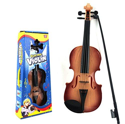 JUNGEN Violine Lernspielzeug Musikalische Spielzeug für Lernen Wertvoll Vielseitiges Kinderspielzeug