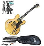 Benson ES 350 Double cutaway semi-acoustic hollow body electric guitar package 1963 reissue