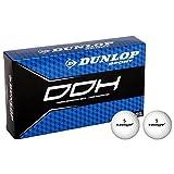 Dunlop DDH Ti Lot de 15balles de golf en titane enrichie en alveoles Taille unique Rose - Rose