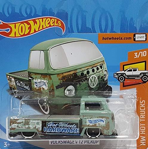 HOT WHEELS® Volkswagen T2 - VW Pickup/Transporter - 1:64 - shabby green (HW-Serie 3/10 Hot Trucks 2018)