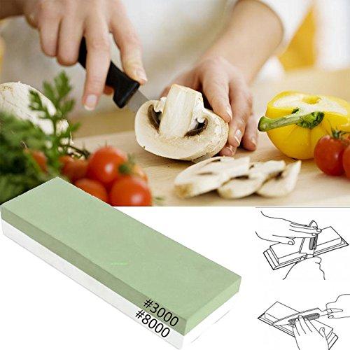 paneltech Premium doppelseitig Messer Schleifstein Körnung 3000/8000Kombination Waterstone Klinge Spitzer Stein Schleifstein
