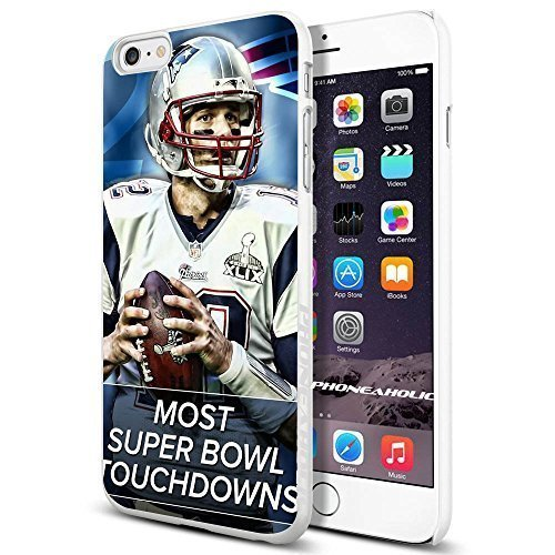 NEW ENGLAND Patriots Cool Coque pour Samsung Galaxy Note 4 smartphone Collector iPhone PC Coque rigide Blanc [par phoneaholic]