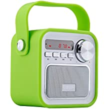 Altavoz Portátil con Radio FM (Bluetooth, Micrófono Incorporado, AUX Entrada, Subwoofer inalámbrico