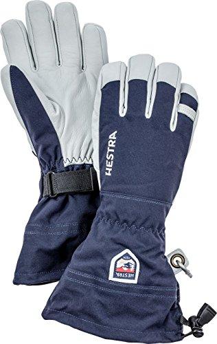 Hestra, Ski-Handschuhe Stulpe, Armee-Leder, Damen, 30570-280-10, Navy, 10