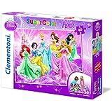 Clementoni 25441.5 - Bodenpuzzle Prinzessin - Reinen Herzens, 40 Teile