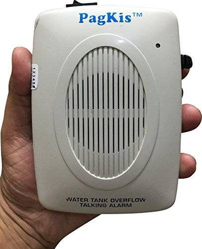 PagKis Water Tank Over Flow Alert Alarm Sound System - Overflow Bell