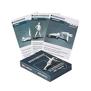 WINDHUND Trainingskarten Bodyweight pro – Übungen ohne Geräte