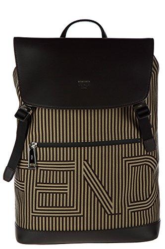 Imagen de fendi  bolso de hombre en nylon nuevo optical marrón