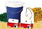 #7: Shalimar Premium (White) Garbage Bags (Small) Size 43 Cm X 51 Cm 6 Rolls (180 Bags) (Trash Bag/ Dustbin Bag)
