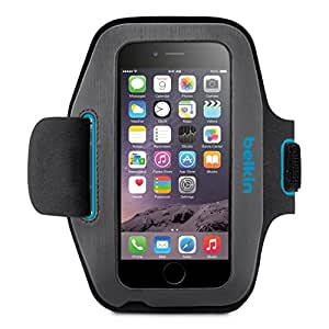 Belkin Sport-Fit Armband for Apple iPhone 6 (Gravel-Topaz)