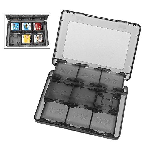 Stylez 28in 1Game Hard Karte Fall Inhaber Cartridge Box für Nintendo DS 3DS XL LL Medium schwarz