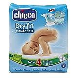Chicco-Advanced Dry Fit Taglia 4 Maxi - Confezione da 19 Pannolini