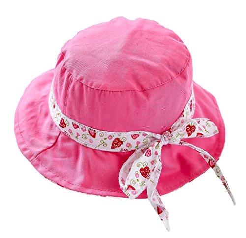 12a26eff5441 Bigood Chapeau Imprimé Bébé Enfant Coton Pêche Camping Plage Protection  Soleil Tour de Tête 52cm