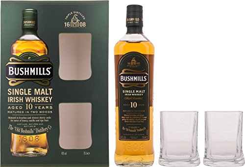 bushmills-single-malt-irish-whiskey-10-years-old-gb-mit-2-glasern-40-vol-07-l