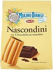 Mulino Bianco Biscotti Nascondini con Cioccolato da Mordere, 600g