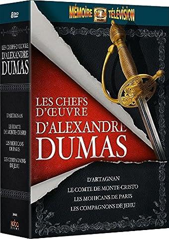 Eleonora Rossi Drago - Coffret Les chefs d'oeuvre d'Alexandre Dumas (Le