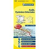 Carte DPARTEMENTS Aude, Pyrnes-Orientales