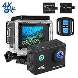 IceFox Action Cam 4k, Ultra FHD Unterwasserkamera 30M, 2