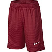 NIKE Boys' Assist Shorts, Gym Red/Gym Red/Gym Red/White, X-Large