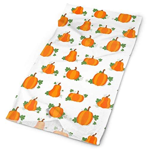 Pumpkin Patch Pattern Tube Bandanas Headwear Headband Multi Scarf Face Mask Neck Gaiter