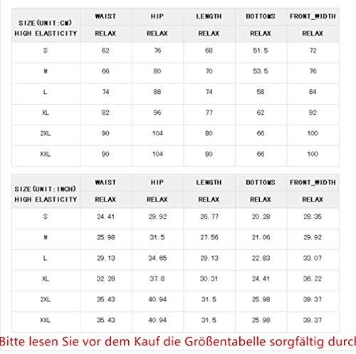 Happy Sailed Damen Badeanzug Farbverlauf Kreuz Rückseite Figurformend Bademode Blau Gr.40-42