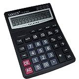 multifonction à 12chiffres calculatrice de voix, Anglais parler calculatrice avec alarme, Time Show