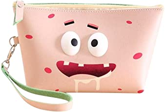 Oytra Pouches | Multipurpose Cosmetic Makeup | Stationery Pencil Pouch (Greedy)
