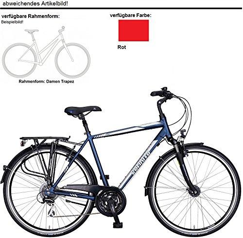 Kreidler Raise RT4 24-G Acera Trekking Bike 2017 (Rot, 28