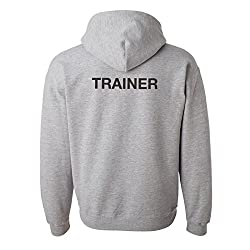 Trainer Hoodie, Personal Trainer, Fitness Instructor, Teacher, Sports Trainer, Animal or Dog Trainer