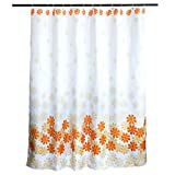 Textil Duschvorhang Wannenvorhang mit Motiv