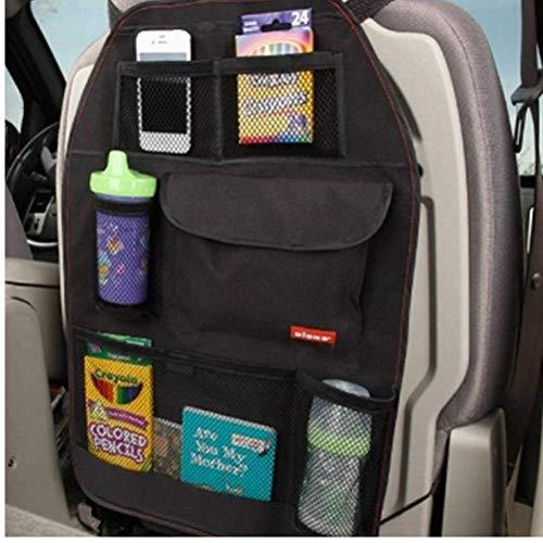 Ouken Car Seat Aufbewahrungstasche Auto-Abdeckungen Zurück Organizer Auto Multi-Pocket-Trash-Netz Beutel hängende Speicher-Beutel Multi-Pocket-Container