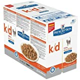 Hill 's Prescription Diet Feline k-D-Tasche Rind 12 x 85 g