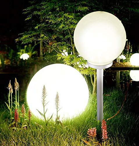 Jumbo, sfera gigante a led da giardino, luce bianca calda, 25 cm diameter