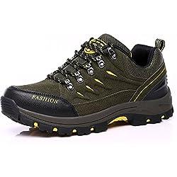 Easondea Chaussures de Randonnée pour Hommes Femmes Bottes de Randonnée Unisexe Chaussures de Marche en Plein Air Bottes Antidérapantes Trekking et Les Promenades