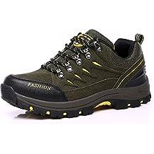 79f2dfd2d5d10 Easondea Zapatillas de Trekking para Hombres Mujeres Zapatillas de  Senderismo Unisex Botas de Montaña Antideslizantes AL