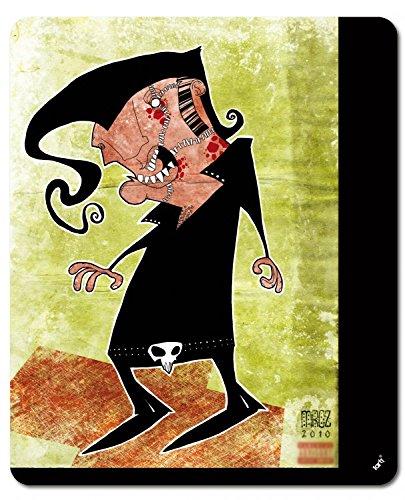 1art1 109257 Marcus Merget - Zombie Elvis, Marcus Merget Mauspad 23 x 19 cm -