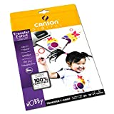 Canson - Papel para transferencia en textiles (A4, 10 hojas)