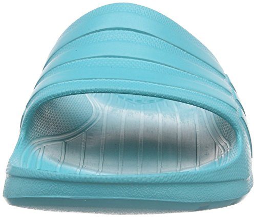 adidas Unisex-Erwachsene Duramo Slide Zehentrenner Verde (Verimp/Verimp/Verimp)