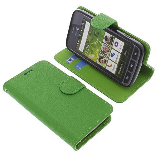 foto-kontor Tasche für Doro Liberto 820 Mini Book Style grün Schutz Hülle Buch