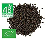 Poivre Noir grains entiers BIO 100g - sachet biodégradable