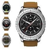 Smartwatch - Luxsure Fitness Trackers Smart Watch Sport Uhr mit Fernbedienung der Kamera Herzfrequenzmonitor Schrittzähler Schlafüberwachung ompatibel mit IOS Android Smartphone