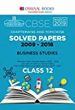 Oswaal CBSE Solved Papers Class 12 Business Studies Chapterwise and Topicwise (For March 2019 Exam)