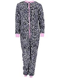Pijama de rayas de una sola pieza Zebra LOVE TO LOUNGE