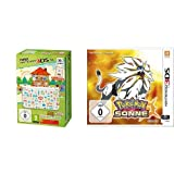 New Nintendo 3DS XL - Konsole (Special Edition) + Animal Crossing: Happy Home Designer  (vorinstalliert) & Pokémon Sonne - [3DS]