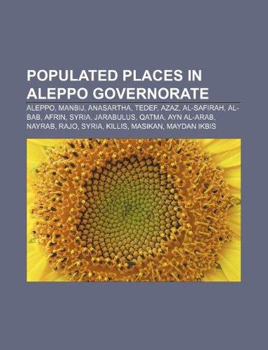 populated-places-in-aleppo-governorate-aleppo-manbij-anasartha-tedef-azaz-al-safirah-al-bab-afrin-sy