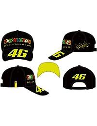 VR46 Cap Mütze Dottorino verstellbar Fan Cap Valentino Rossi grau gelb