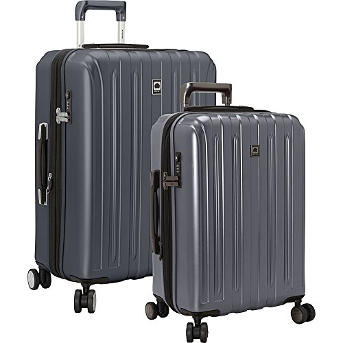 delsey-luggage-titanium-2-piece-hardside-spinner-carry-on-and-check-in-set-graphite