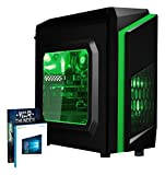 Vibox FX 2 PC Gamer Unité centrale Vert (AMD FX-Series, 8 Go de RAM, 1 To, Nvidia GeForce GTX 1050, Windows 10)